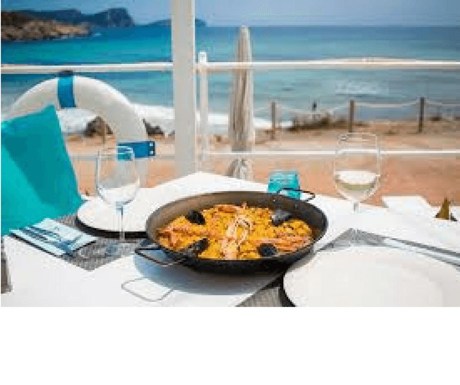 Paella-on-the-beach