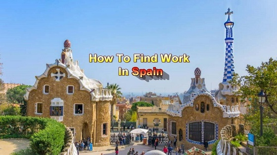 how to find work in spain